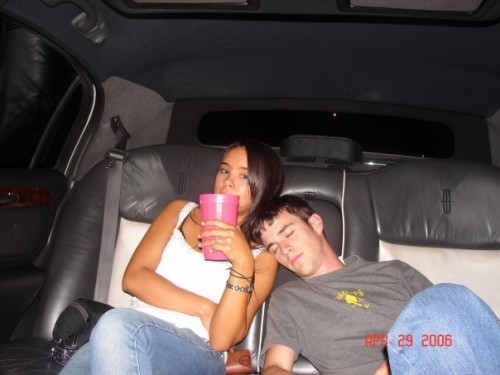 Limo Rides. Have no idea where we were going… 06'