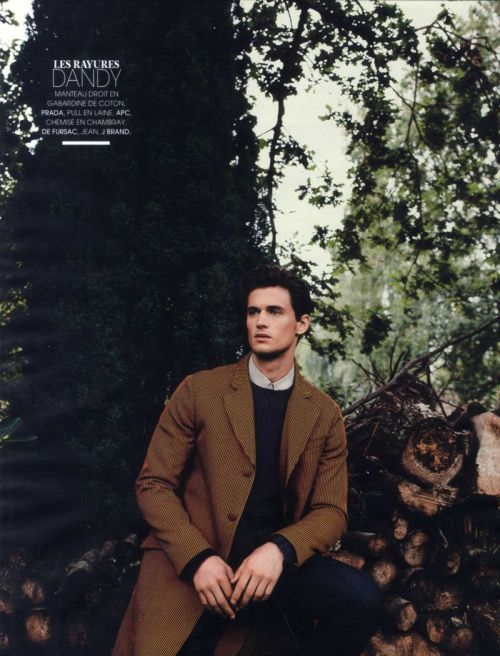 mensfashionworld:  Garrett Neff by Tomo Brejc for Madame Figaro