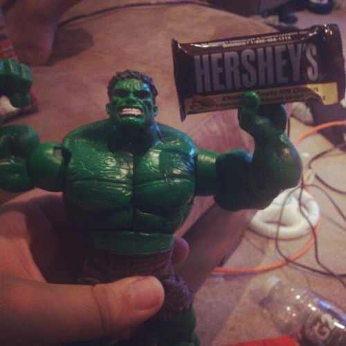 Marvels new hersey add #hulk #marvel #chocolate