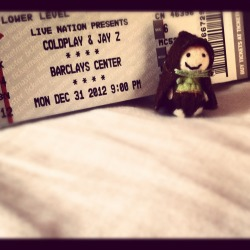 Tiny Hobbit C is ready to party with Coldplay & Jay-Z on NYE!