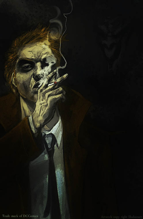 thehappysorceress:  Constantine by Shahan Zaidi  Magic Monday