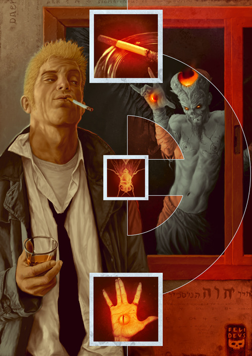 thehappysorceress:  Whiskey, cigarettes and demons by Felideus Bubasti Magic Monday