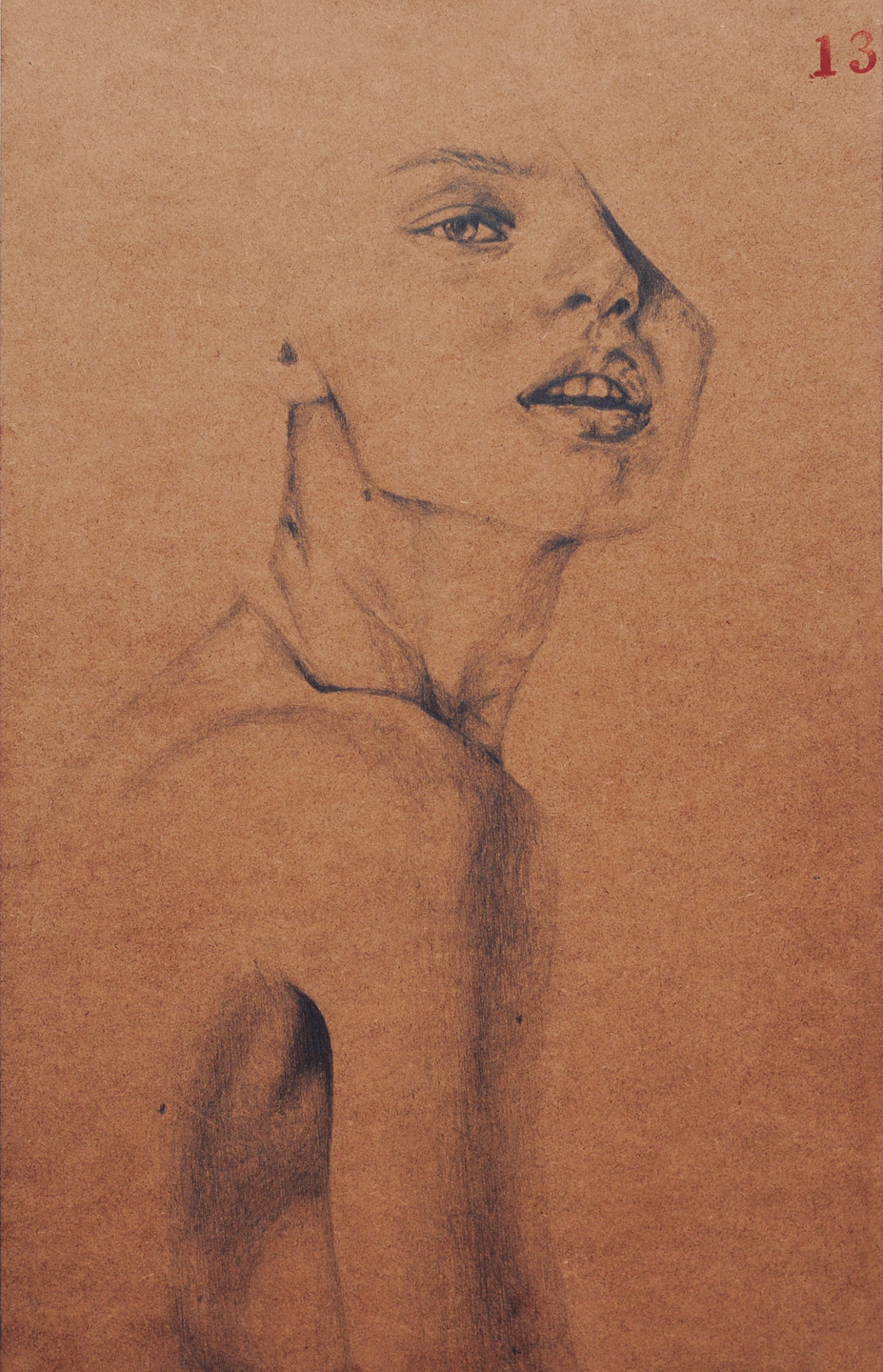 11x17 Pencil on wood I was originally supposed to paint this, but I started to sketch, and then came the shading, and then I basically lost control. Haha! I might paint over it with acrylic, so we'll see!And I don't know what to name this piece yet.