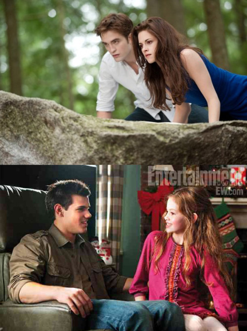 Bella: I mean, he's been a family friend for years. It's just… creepy! Edward: I think you might be overreacting. Bella: He changed her as a baby. Edward: OK, that's, that's about the creepiest thing I've ever heard.