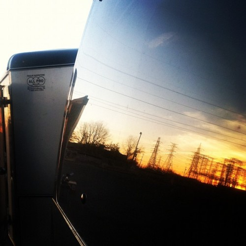 tayjardine: Van reflections. I'm fancy