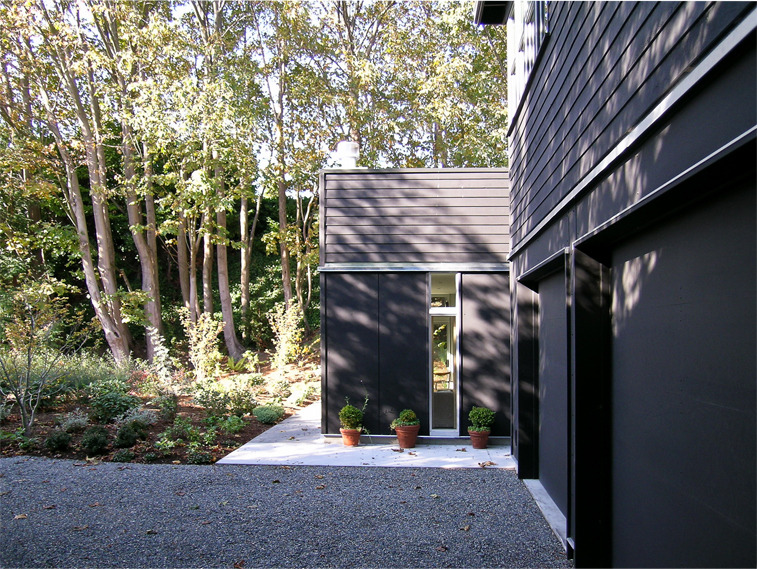black + white house | detail ~ erich remash architect