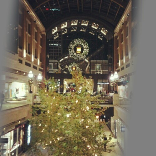 Christmas at the mall #CityCreekCenter #SaltLakeCity