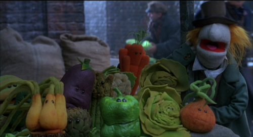 """Even the vegetables don't like him!"""