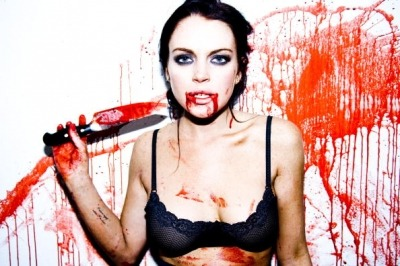 Lindsay Lohan shot by Tyler Shields.