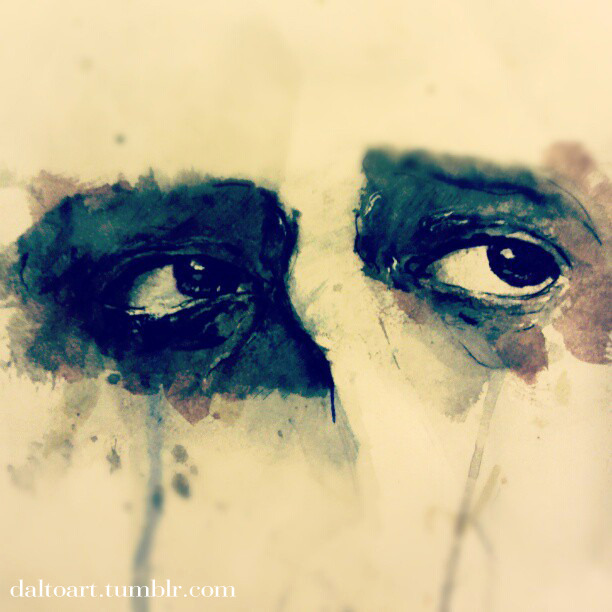 "daltoart:  ""They say eyes are portals to the soul…"""