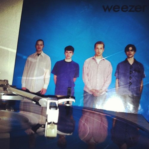 New Vinyl: Weezer - Blue Album 2012 Reissue. 984 of 3000 Sorry I haven't posted in a good while, sometimes life takes you strange places! More good stuff to come as the mail comes in!