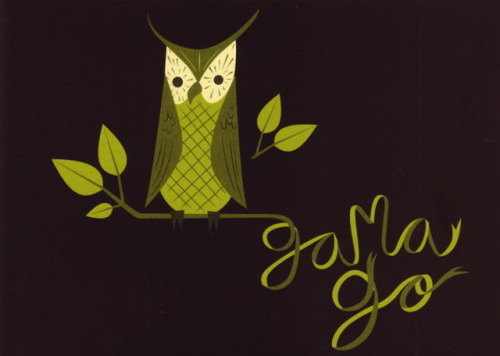 """Wise Owl"" by Gama-Go 