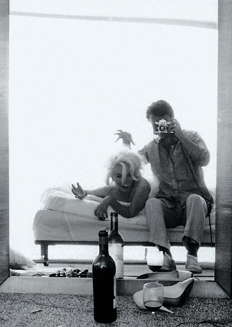 shialablunt:  fckthtsht:  Marilyn Monroe and Bert Stern during a photo shoot, 1962.  I think this might be my favorite picture of all time
