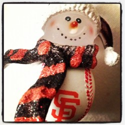 A favorite ornament #sfgiants #tistheseason