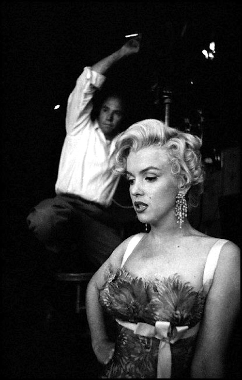 missingmarilyn:  Marilyn Monroe on the set of There's No Business Like Show Business, 1954.