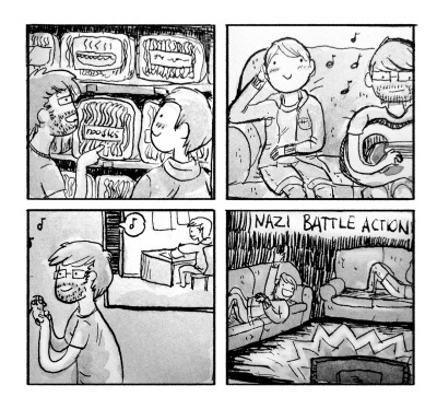 Journal comic in which Matt and I do nothing in particular, and I find it quite enjoyable