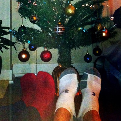 Warm and cozy by the Tree 🎄🎁 #socks #fuzzy #christmas #tree #festive #decorated #home #boy #dream #cold #autumn #november #comfy #cozy #warm #instadaily #instalove #instagood #love #xmas #igers #igaddict #igervancouver #vancouver #ornaments #lights #beautiful #cute #tistheseason