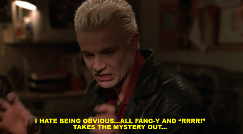 Spike is punk in every way.