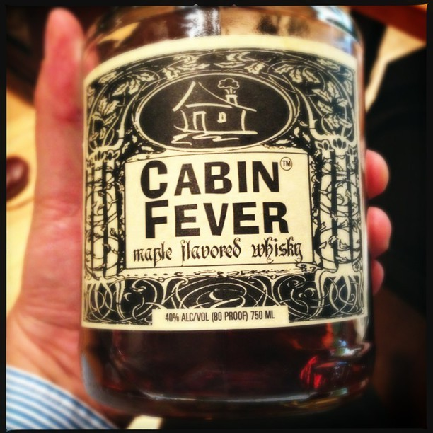 Cabin Fever whiskey with maple syrup. B minus.  #Hipstamatic #Loftus #DC was posted on Instagram http://instagr.am/p/Se1EJNLFMY/