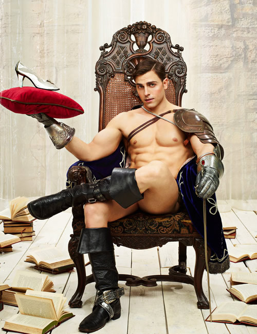 Yep, that's my kind of Prince Charming.