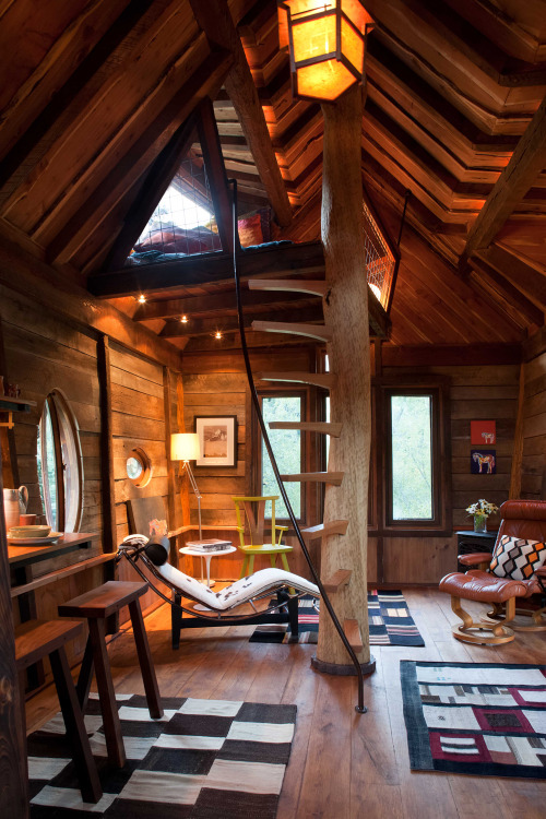 justbesplendid:  Whimsical treetop sanctuary on Crystal River
