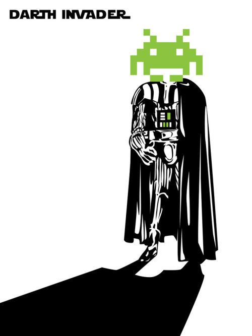 Darth Invader Created by Matt Cowan Shirt available at QStoms