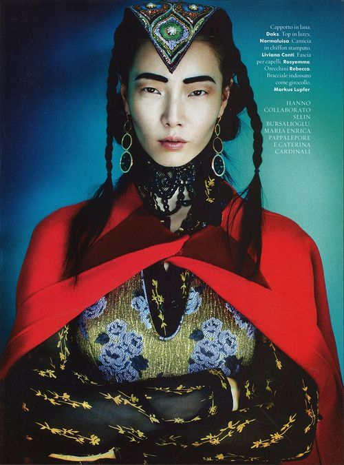 koreanmodel:  Kim Sung Hee and Jay Shin by Kenneth Willardt for A Magazine September 2012