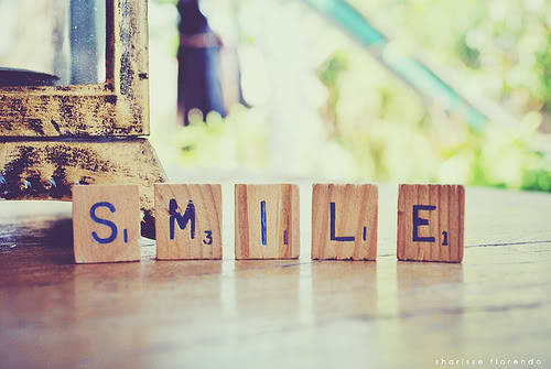 Always smile :D