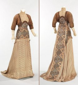 tweed-eyes:  1910, Evening Dres. Weeks