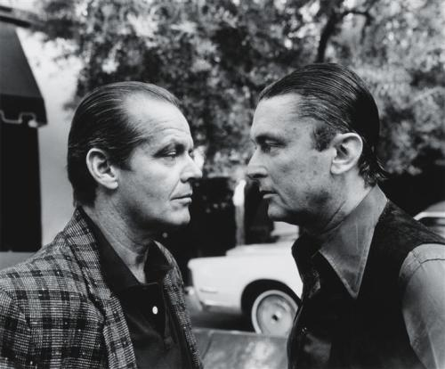 Jack Nicholson and Bob Evans, The 2 Jakes That Never Were, Beverly Hills, 1985 — Helmut Newton