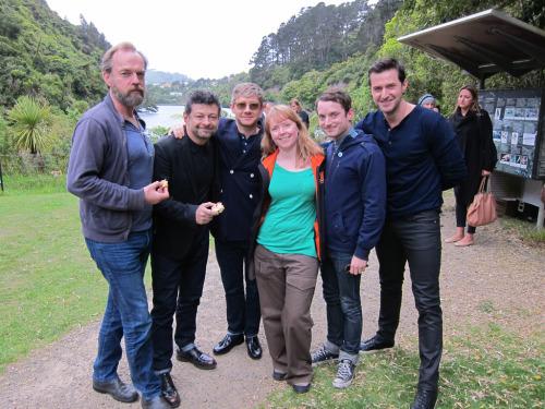 suddenwaves:  Stars of The Hobbit at Zealandia