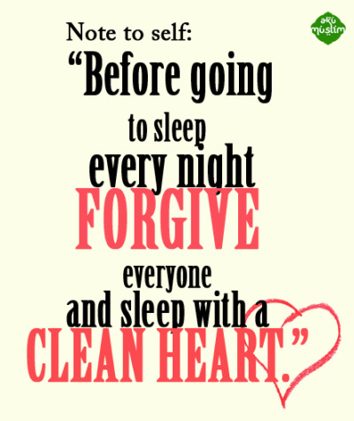 islamic-quotes:  Before going to sleep Submitted by AkuMuslim