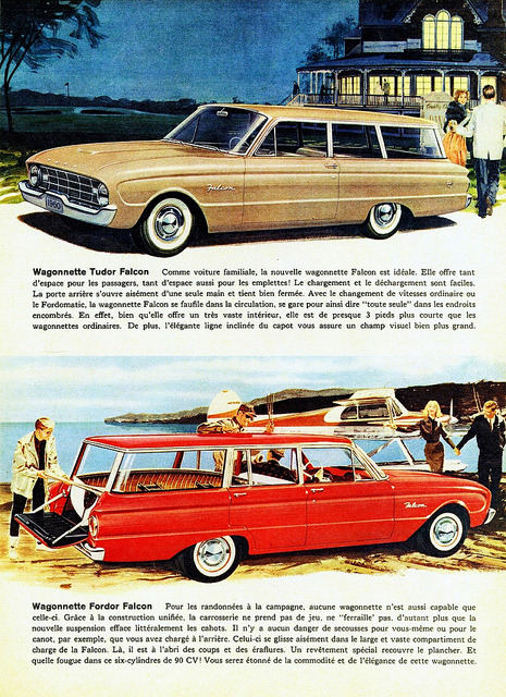 1960 Ford Falcon Station Wagons (Canadian Ad, Pg. 2) by aldenjewell on Flickr.1960 Ford Falcon Station Wagons (Canadian Ad, Pg. 2)