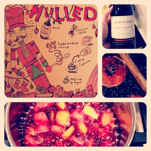 Momma would be proud #mulledwine #homemade #diy #christmas #winter