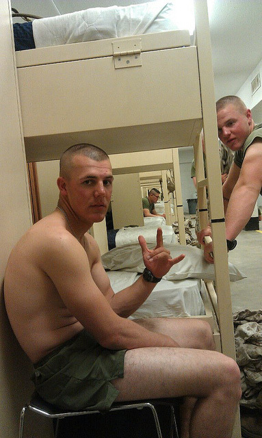 #military #barracks #bros are a huge interest for many of you… enjoy…     #topher ;)  BestOfBromance.tumblr.com - @BestOfBromance - BestOfBromance@gmail.com