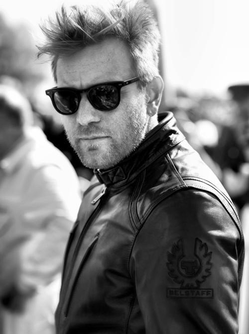 Ewan ROCKS in Belstaff!