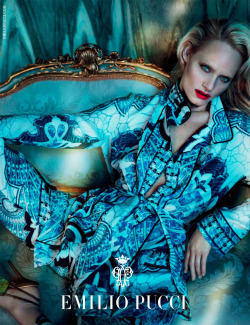 Emilio Pucci Fall/Winter 2012Ph: Mert & MarcusM: Amber Valletta