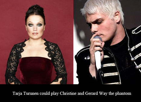 I just imagined Tarja as a rule!63 Phantom… hmmmmmm interesting.