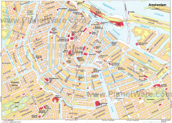 This is the map of the capital city of my country. The city center of Amsterdam, The Netherlands (or Holland)  I love maps and I love Amsterdam, so I love this picture.  Check out my other tumblr: ndejo.tumblr.com