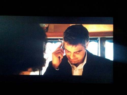What I do while she's on a business trip day #1 - Watching Oceans 12 with director's commentary