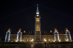 Parliament at Night Ottawa, ON © Pize, kick-start-my-kaleidoscope-heart