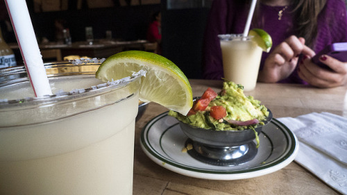dietkiller:  Guacamole and Drinks