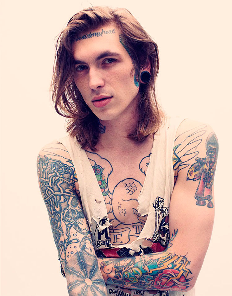 Bradley Soileau fotografiado por Chad Griffith con estilismo de Bethany Wolosky para la edición #12 de Inked magazine.____________ Bradley Soileau photographed by Chad Griffith with styling by Bethany Wolosky for the issue #12 of Inked magazine.
