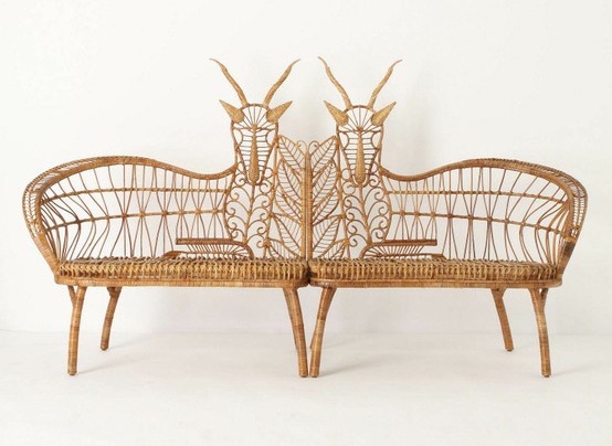 Springbok Chairs By Jauretsi I'm loving these animal chairs currently available at anthropologie.com (via beatpie's Tumblr). The seemingly looking deer creatures possessed horns instead, which made me curious, what the hell is a Springbok? It turns out, the animal is a gazelle and mostly inhabits Southwestern Africa. We're not sure why Anthropologie singled out this one creature of the wild, but we're happy they made this adorable chair.  (Photo: Courtesy Anthropologie)