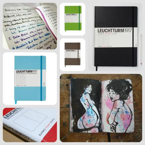 www.facebook.com/junkfunkshop LEUCHTTURM NOTEBOOKS & SKETCHBOOKS If, like us at Junkfunk, you are a notebook obsessive, our collection of Leuchtturm is a must for you…Each journal is thread-bound, opens flat and has a durable hard cover with rounded corners that washes off easily and is pleasant to the touch. The acid-free pages make the whole pen-bleed-to-the-next-page trouble disappear and the ribbon marker is perfect for instantly find your page. A5 (£12.99) & A6 (£9.99) - Turquoise, Lime Green, Red & Taupe available in blank, lined & dotted pages Large Sketchbook (£16.99) - Black available in blank & dotted pages