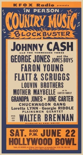 cryptofwrestling:  All-Star Country Music show (1963)