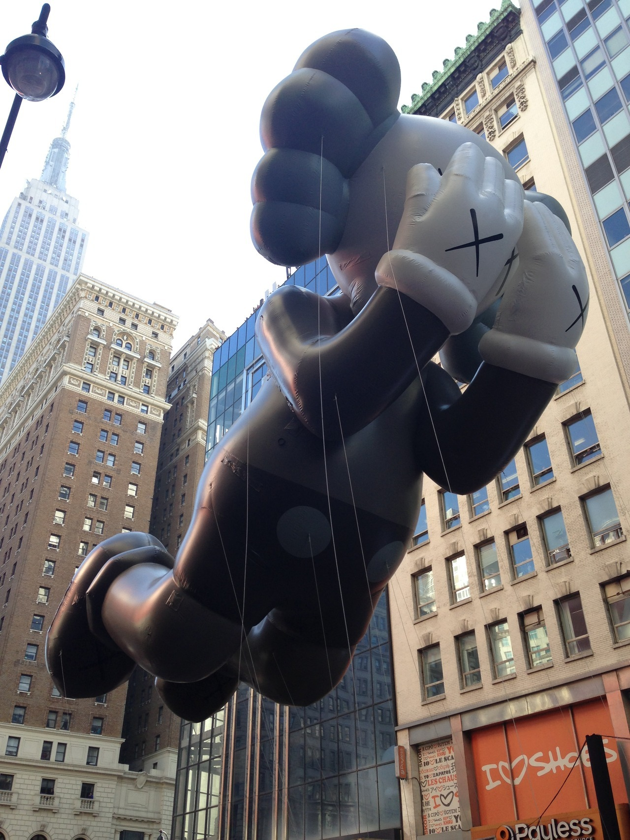 KAWS Companion!  We saw you floating Fifth Avenue in the Macy's Day Parade.  No need to be bashful.