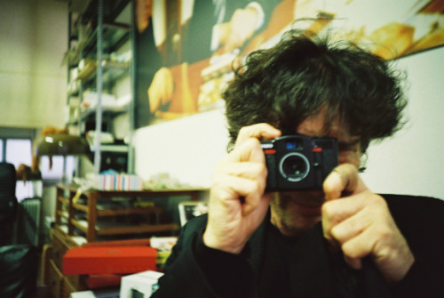 What I was doing at Lomography HQ in Vienna… (They have told the cool news thing here) http://www.lomography.com/magazine/news/2012/11/22/whats-neil-gaiman-doing-at-lomography-hq