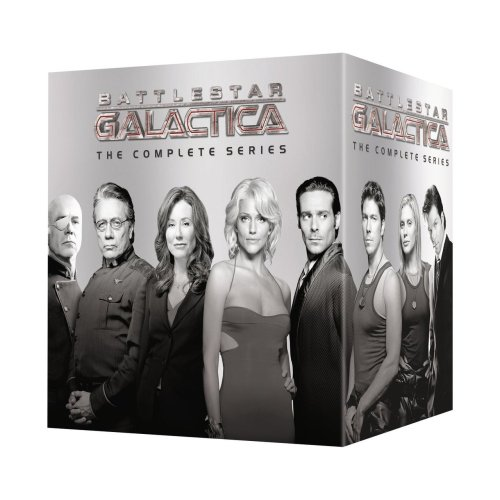 Battlestar Galactica: The Complete 2004 Series is only $99 on Amazon right now. Just sayin'.
