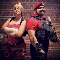 Mushroom Kingdom Special Forces Cosplay by Jake Castorena